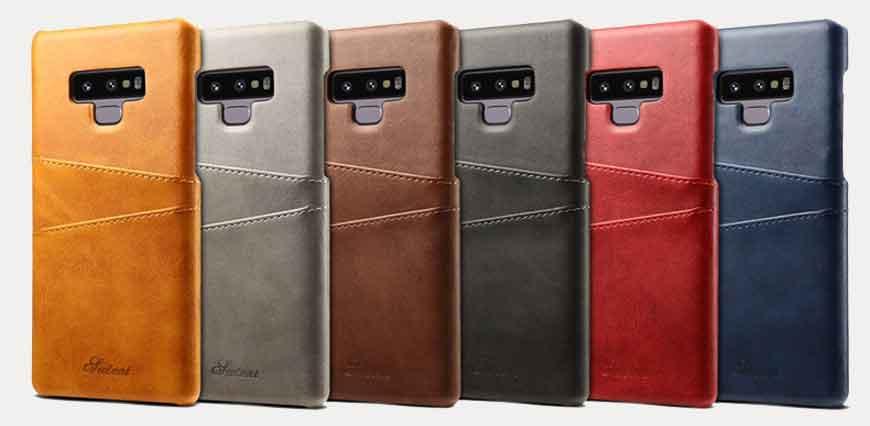 Samsung Galaxy Note 9 Kuoret Nahka